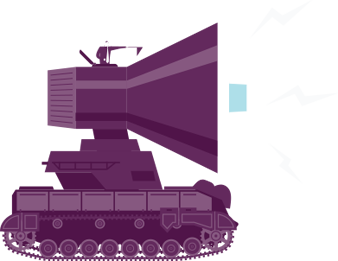 speaker tank, provide a social presence