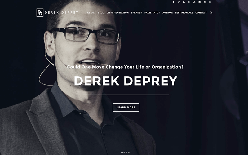derek deprey delafield website design, and delafield website development