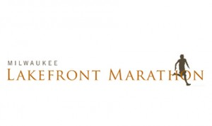 logo for lakefront marathon