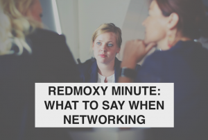 What to Say when Networking