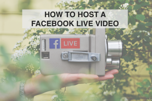 How to Host a Facebook Live Video - RedMoxy