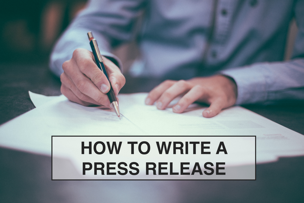 how to write a press release The tricky bit is convincing journalists that your press release is worth publishing here are three tips on how to craft a press release that gets noticed.