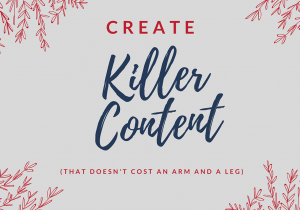 Content Marketing on a Budget -- RedMoxy Communications