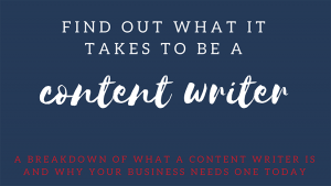 What is a content writer? -- RedMoxy Communications